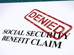 social security benefit claim denied of a person who is calling mr. comerford, a top social security benefits attorney chicago